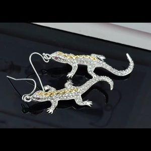 Alexis Bittar Jewelry - Brand new Alexis Bitter lizard 🦎 crystal earrings